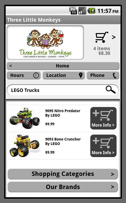toy store mobile template toys