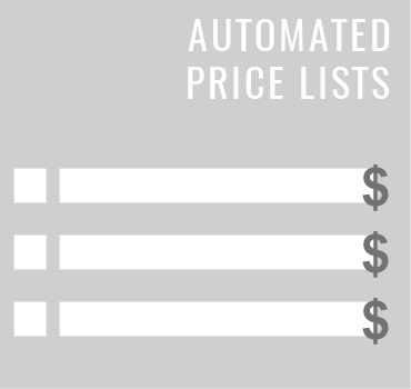 Automated Price Lists