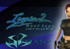 Hitman 2, Legend of Legaia, Tomb Raider, Time Splitters 3 demos