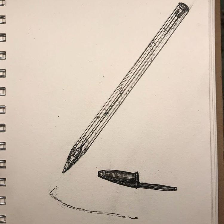 inktober2018-bic-pen-empty
