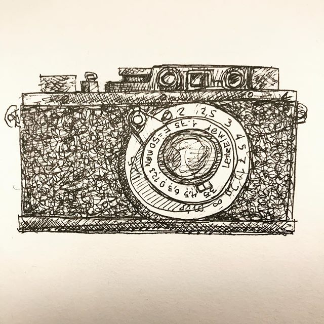 inktober2018-leica-iiid-drawing